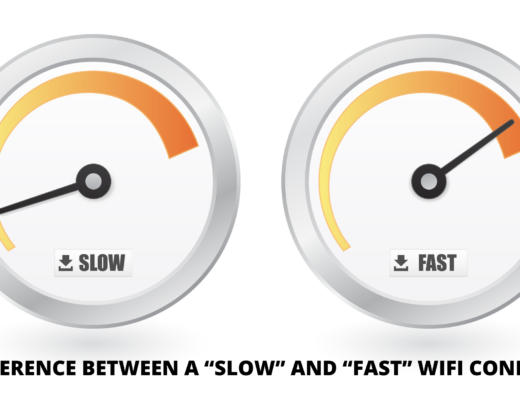 """The difference between a """"Slow"""" and """"Fast"""" WiFi connection"""