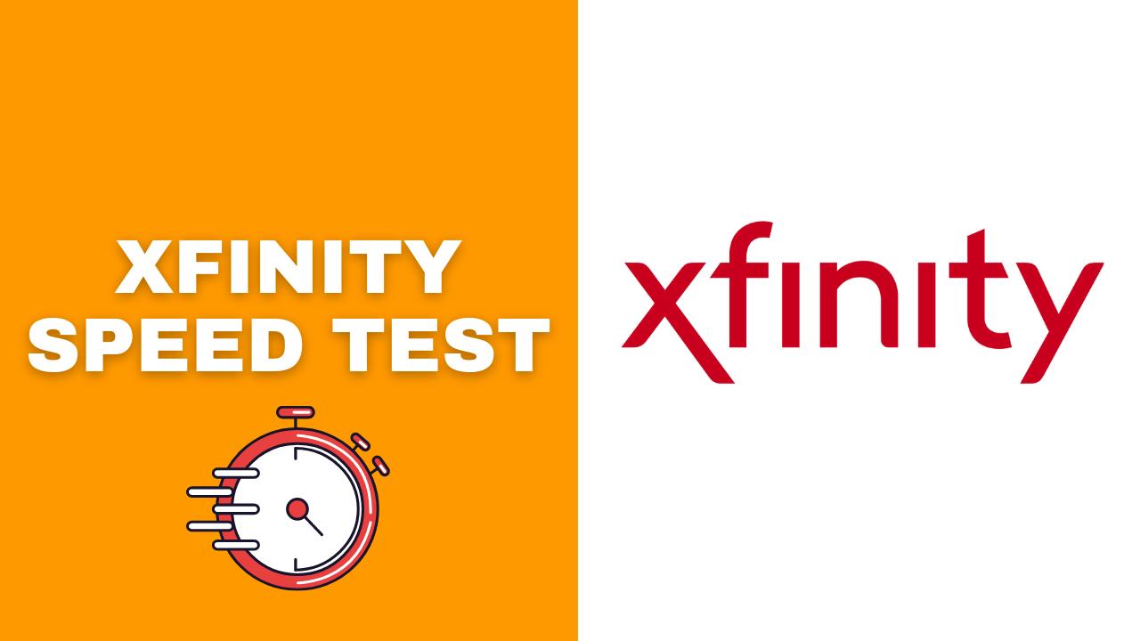 xfinity comcast speed test