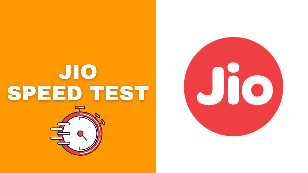Jio Speed Test